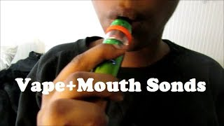 ASMR Mouth Sounds, Vape, Playing w/ tapping on Camera, Sk
