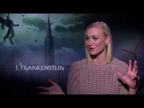 Yvonne Strahovski calls 'I,Frankenstein' a fresh take on the icon