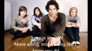 The All-American Rejects Move Along with Lyrics