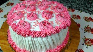 En Kolayından Doğum Günü Pastası /Yaş Pasta Tarifleri /hacereli