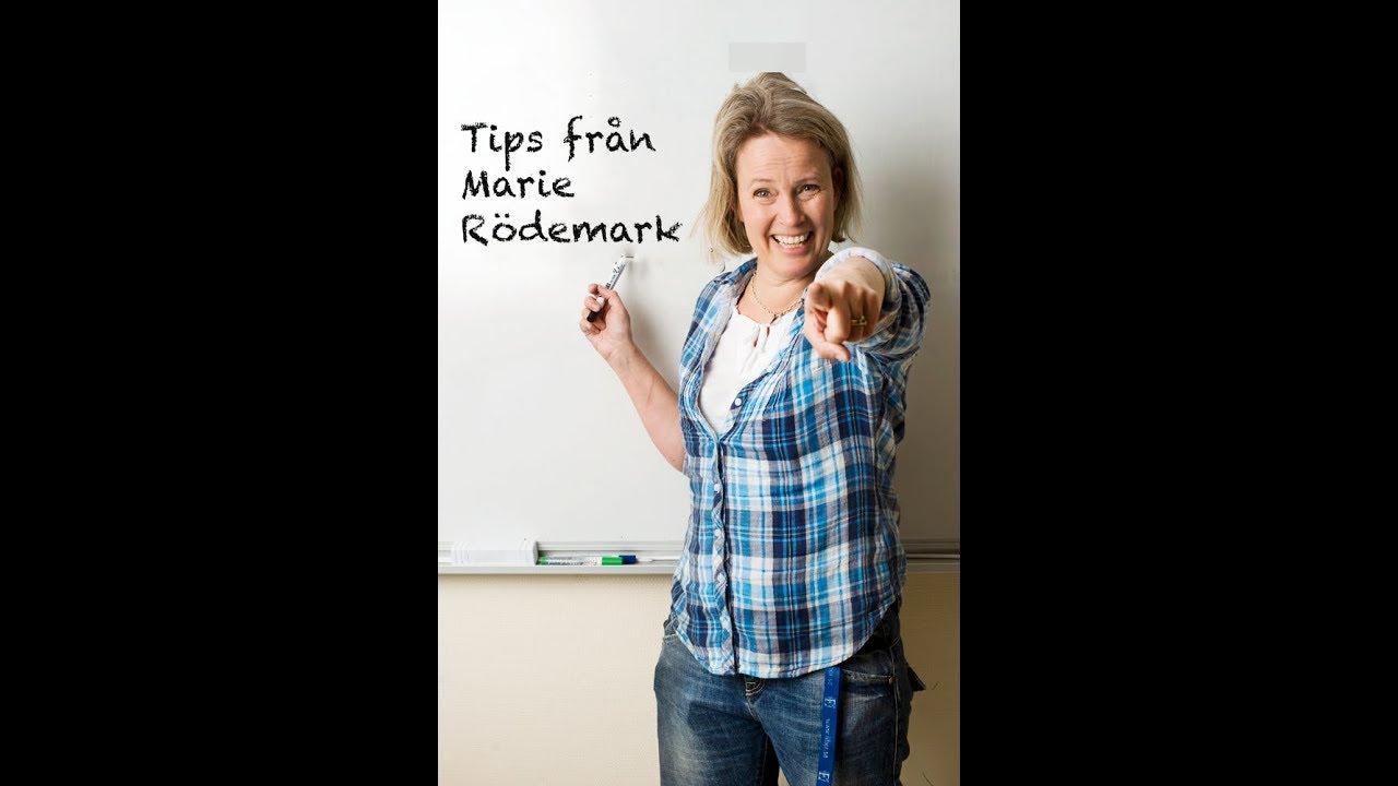Maries tips   Motivationsfilm att lära sig svenska