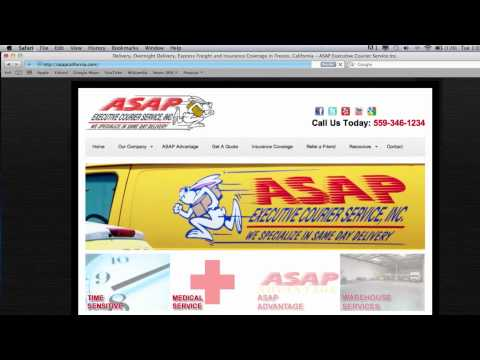 ASAP Executive Courier Services, Inc. (San Fransisco, Fresno, Los Angeles)