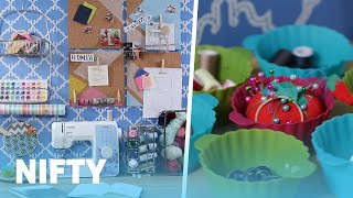 9 Tips For Organizing Your Craft Room