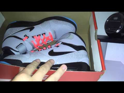 Nike Air Revolution unboxing/rewiew[GERMAN]