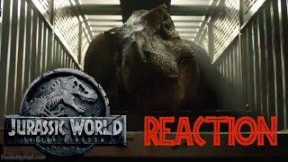 Jurassic World: Fallen Kingdom - Trailer Thursday (Awesome) (HD) Reaction