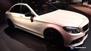 2019 Mercedes AMG C Class C63 Sedan - Exterior and Interior Walkaround - 2018 New York Auto Show