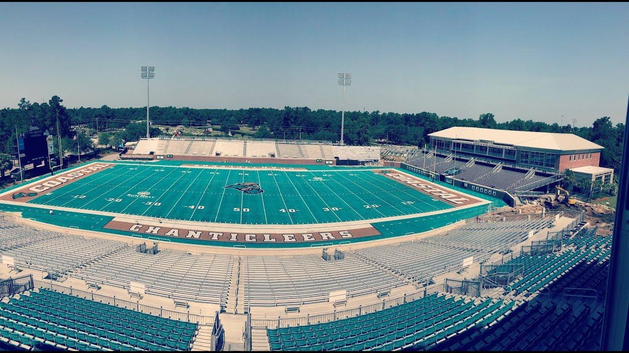 Coastal Carolina Expands Stadium Stadium Youtube