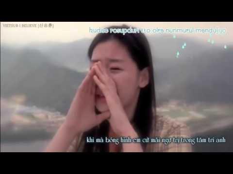 Vietsub+Kara I believe OST My sassy girl   Shin Seung Hoon