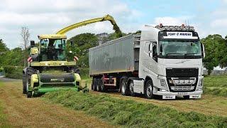 🎥 Silage 2016 - New Krone BiG X 770 & Volvo Trucks, Cork