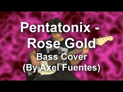 Pentatonix - Rose Gold Bass Cover (by Axel Fuentes)