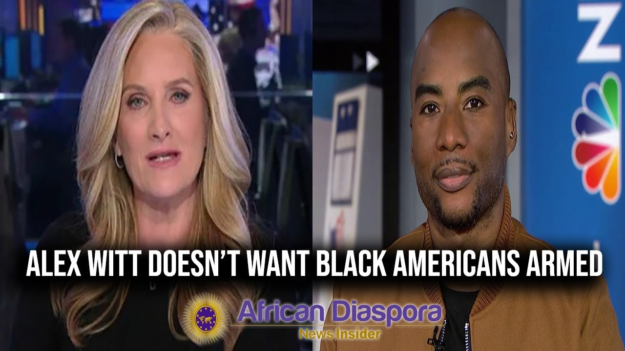 Alex Witt Visibly Bothered That Charlamagne Tha God Advocated For Black Americans To Arm Themselves