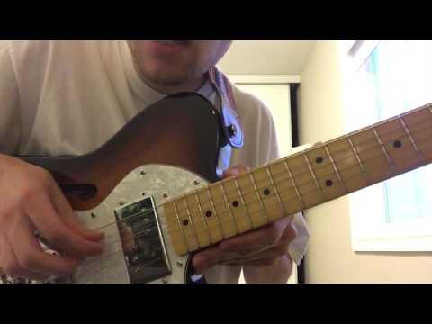 HAUNT by PILE guitar tutorial off JERK ROUTINE album