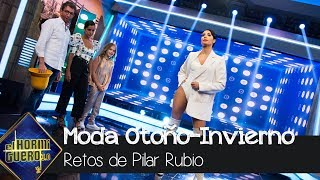 Pilar Rubio revela las tendencias de la nueva temporada otoño-invierno - El Hormiguero 3.0
