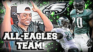 I HATE THIS GAME 😡 ALL-TIME EAGLES SQUAD BUILDER!   Madden 17 Ultimate Team Gameplay