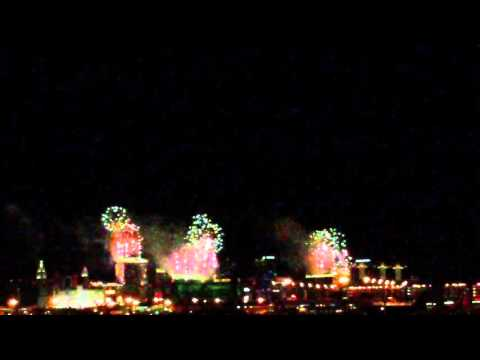 VEGAS 2016 NYD FIREWORKS