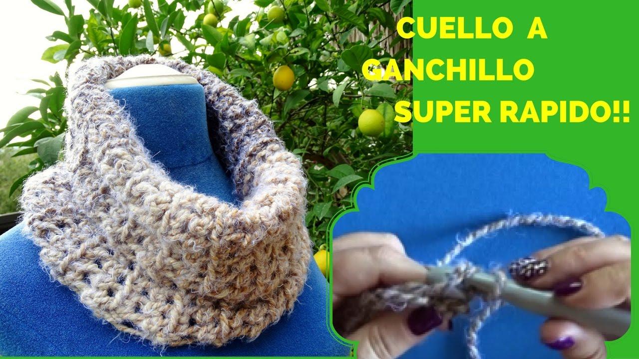 revisa 298f4 ef8db CUELLO GANCHILLO SUPER FACIL
