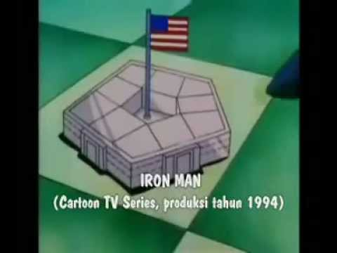 Pesan terselubung Illuminati di film kartun, part.1 - Iron Man (1994)