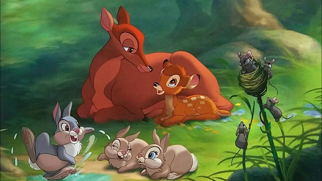 Bambi Story / The light-up night / Read Along / Bambi and Thumper