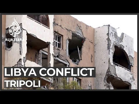 Libya conflict: Tripoli, two tales of one city