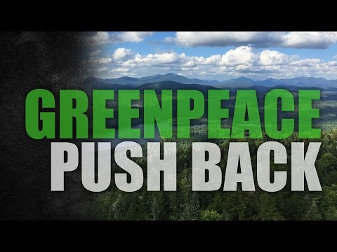 Canadian resource company takes on Greenpeace