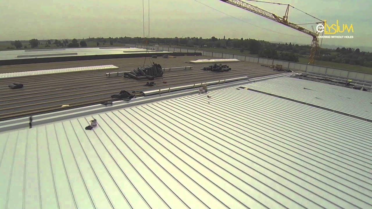 70.000 mq di copertura metallica elysium per il nuovo deposito ...