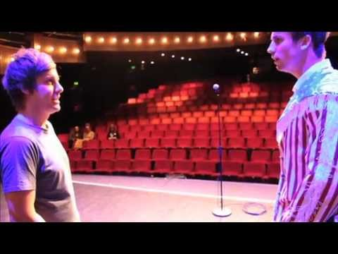 A backstage tour of the Bloomsbury Theatre