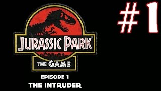 Jurassic Park: The Game Episode 1 - The Intruder Playthrough/Walkthrough part 1 [No commentary]