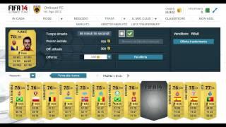 FIFA 14 UT | ROAD TO 100.000 CREDITI #1 | Fifa 14 Compravendita TUTORIAL ITA - Come iniziare