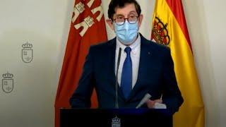 Manuel Villegas presenta su renuncia como consejero de Salud de Murcia