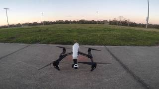 Dji inspire one testing litchi app Active track 2