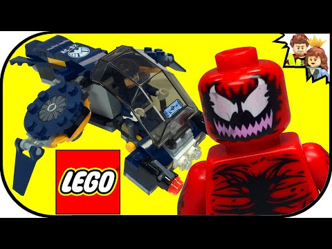 60 Sec LEGO Carnage's SHIELD Sky Attack 76036 Marvel Super Heroes - 동영상