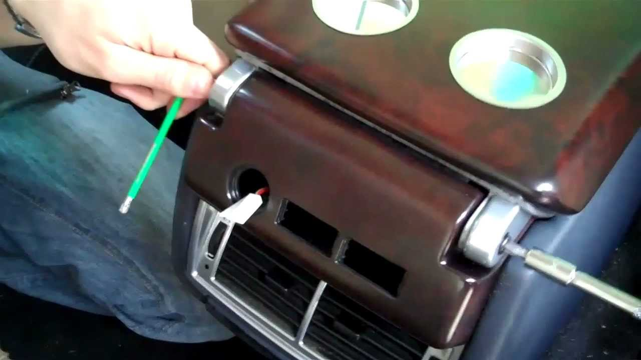 How To Change Rear Console In Range Rover L322 Youtube
