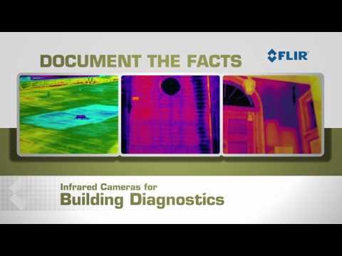FLIR Thermal Cameras for Building Diagnostics