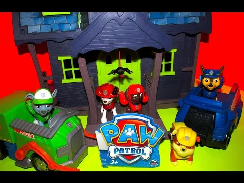 """PAW PATROL Parody Video with Scooby Doo Haunted Mansion """"GAME SHOW Parody"""" by Epic Toy Channel"""