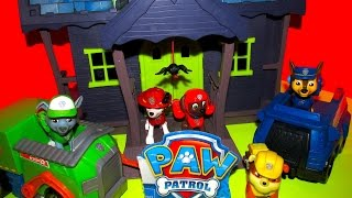 PAW PATROL FULL EPISODE Scooby Doo Haunted Mansion GAME SHOW Full Episode Parody Toy Video