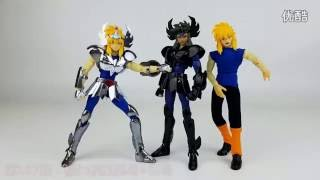 in stock [Review] Hyoga Cygnus cinsne Specters black Saint Seiya V1 Myth Cloth EX CS speeding Model