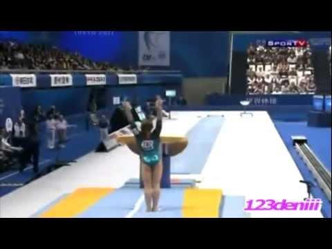 Top 10 Vault Gymnasts - HD
