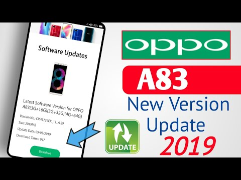 OPPO A83 Latest Version Update 2019 || OPPO A83 New Version Update Installation || Oppo Update