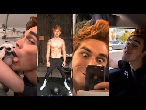 Kj Apa | Funny/Cute/Dorky Moments | ft. Cole Sprouse, Charles Melton | Riverdale Season 3