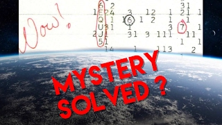 40 Year Mystery Solved ??   The WOW Signal