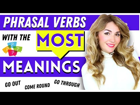 Common English Phrasal Verbs Multiple Meanings | Learning English Phrasal Verbs