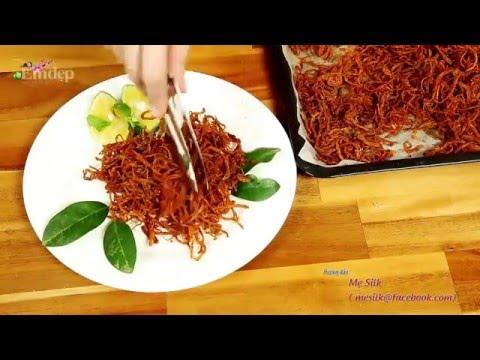 Hướng dẫn làm thịt bò khô từ thịt heo cực đơn giản dễ làm