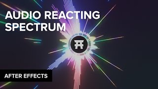 After Effects: Audio Spectrum Waveform Tutorial