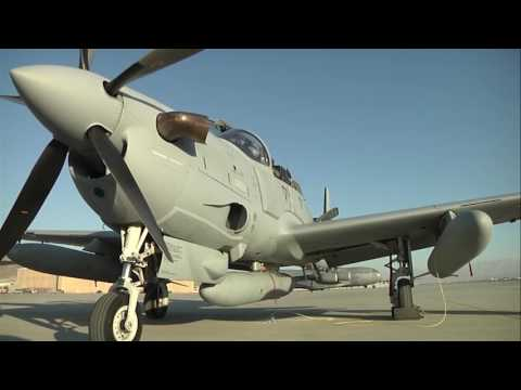 The Afghan National Airforce gets four new A29s