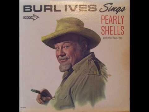 Burl Ives -  'Mocking Bird Hill'