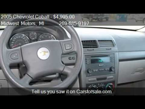 2005 Chevrolet Cobalt Base 4dr Sedan For Sale In Plainwell Youtube