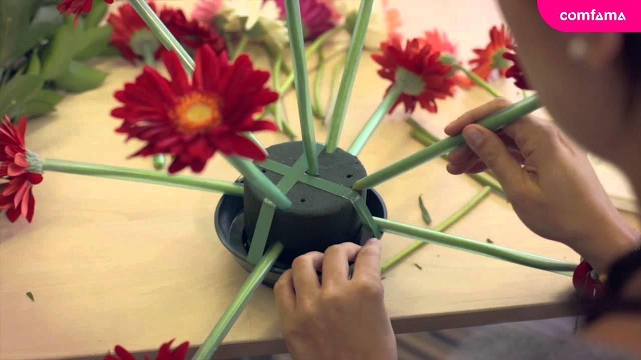 Curso Corto De Arreglos Florales
