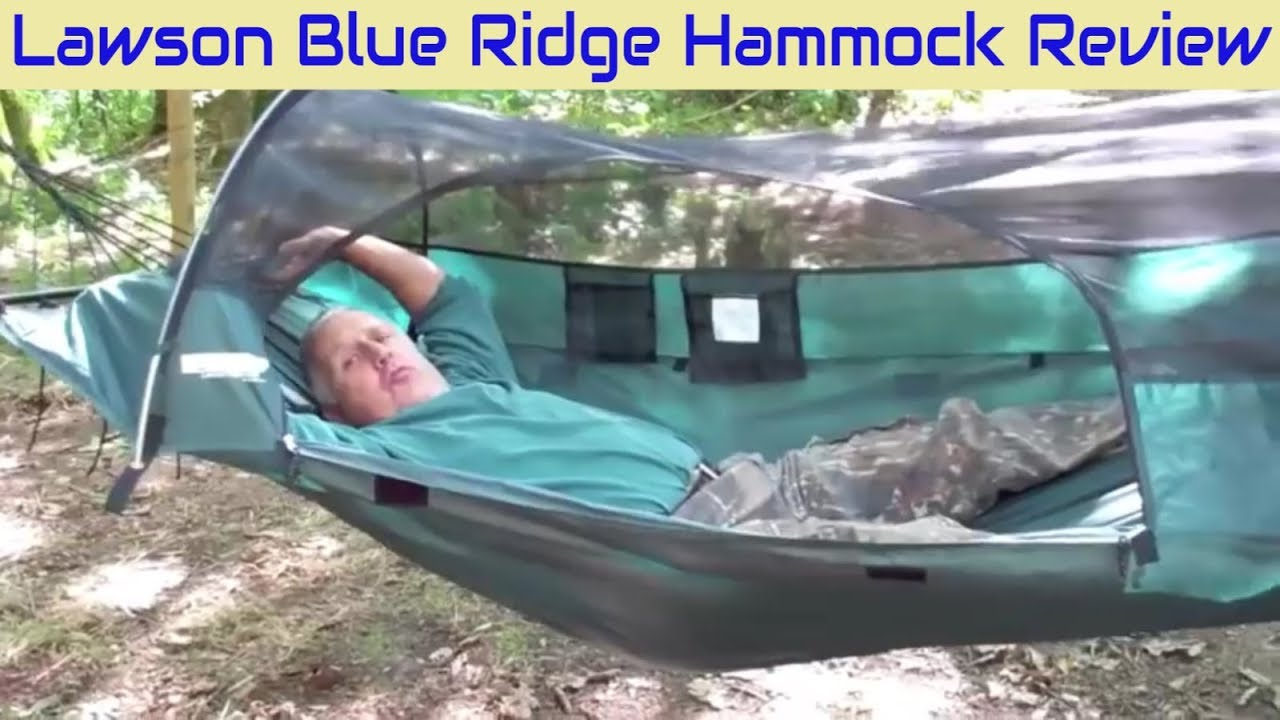 timeless design 1afcd 81e6c LAWSON BLUE RIDGE CAMPING HAMMOCK REVIEW - best backpacking and hiking gear  for outdoors adventures