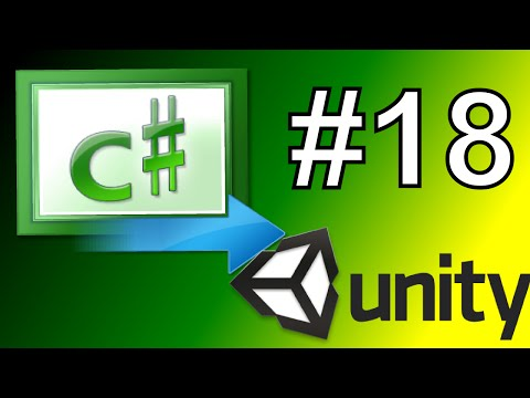 18.Unity Rotating GameObjects transform.Rotate - Unity C# Scripting Tutorial