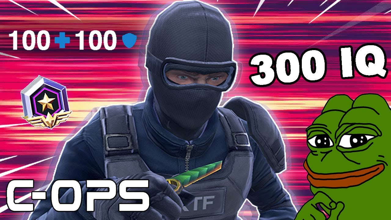 Download 300 IQ in Critical Ops RANKED!